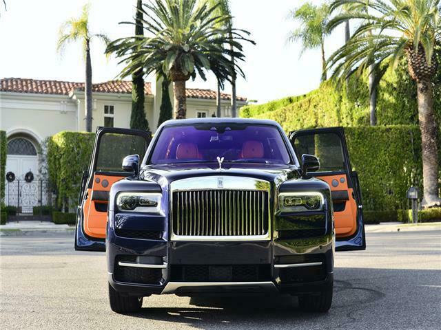 Image 4 Coche Americano usado Rolls-Royce Cullinan 2020
