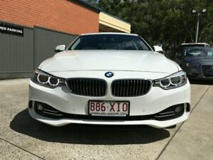 2013 BMW 428i F32 Luxury Line White Semi Auto Coupe