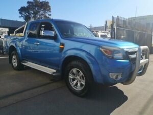 2009 Ford Ranger PK XLT (4x4) Blue 5 Speed Manual Super Cab Utility Lidcombe Auburn Area Preview