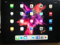 i pad pro 12x9 large 256gb space grey