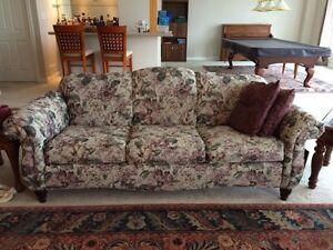 Sofa with matching Love Seat & Chair