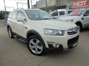 2012 Holden Captiva CG Series II 7 LX White Auto Sports Mode Wagon Holroyd Parramatta Area Preview