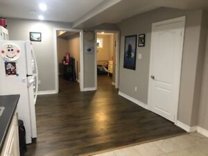 Newly renovated 3 bedroom open concept walk out apartment