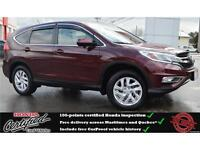 2015 Honda CR-V EX, Backup Camera, Heated Seats, One owner !!