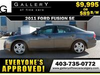 2011 Ford Fusion SE $89 bi-weekly APPLY TODAY DRIVE TODAY