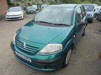 Citroen C3 1.4 LX (green) 2002