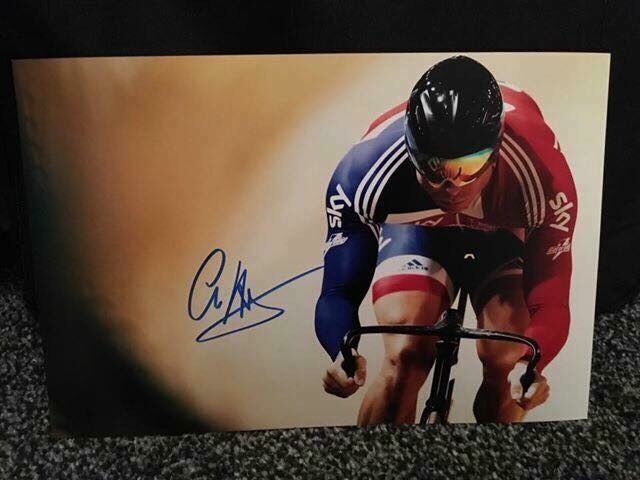 Sir Chris Hoy signed A4 photographin Cumbernauld, GlasgowGumtree - Sir Chris Hoy signed A4 photograph Great Quality Photo. Signed in Blue.Comes with Certificate of Authenticity