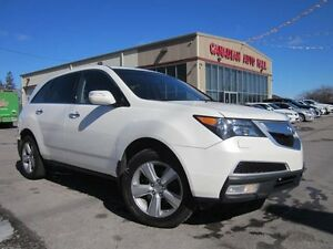 2012 Acura MDX TECH, NAV, DVD, ROOF, LEATHER, AWD!