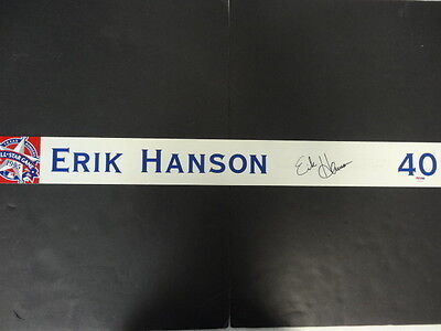 Erik Hanson Signed GU 1995 All-Star Game Nameplate Auto PSA/DNA Z25616