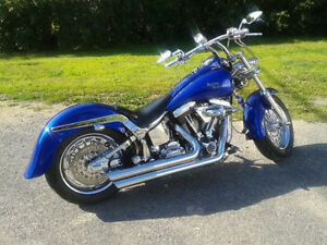 SELLING A 1992 FULLY CUSTOMIZED HARLEY-DAVIDSON FXSTC LOWBOY