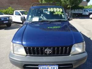 1998 Toyota Prado RV Manual 4X4 8 Seater Wagon Wangara Wanneroo Area Preview