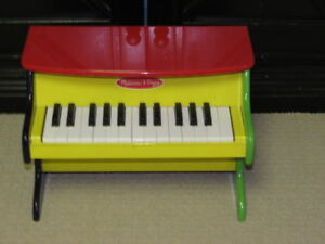 Melissa and Doug wooden upright piano