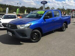 2017 Toyota Hilux Blue Manual Utility