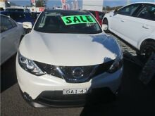 2015 Nissan Qashqai J11 TI Ivory Pearl 1 Speed Constant Variable Wagon Cardiff Lake Macquarie Area Preview