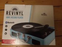 Revinyl record player with built in speakers *Brand New*