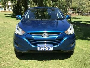 2012 Hyundai ix35 LM2 Active Blue 6 Speed Sports Automatic Wagon Embleton Bayswater Area Preview