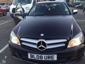 QUICK SALE MERCEDES BENZ C220 CDI AUTOMATIC , DIESEL BLACK PRICE 5700 , ONO