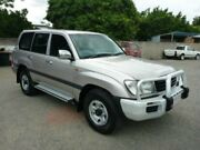 2002 Toyota Landcruiser HDJ100R GXL Silver Automatic Wagon Townsville Townsville City Preview