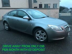 MAY 2012 VAUXHALL INSIGNIA 2.0 CDTI ES 130 BHP FIANCE AVAILABLE MAY PART EXCHANGE MOT TO JAN 2019