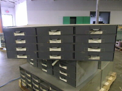 Lyon Metal Supply Parts Bin Cabinet With 12 Drawers 34 X 17 X 10