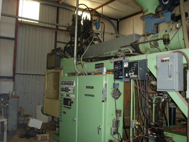 Hayssen blow mold machine 40-BD-500