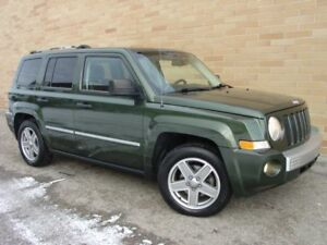 2008 Jeep Patriot Limited 4X4. Loaded! Leather!Only 153000 Km!