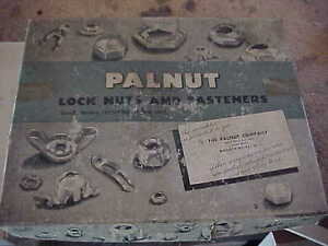 Palnut fastners Steel  $100 per box OBO