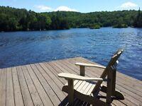 NEW: LAKEFRONT Laurentians; NOUVEAU: Laurentides au bord du lac