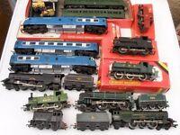 Hornby model railway vintage huge job lot locomotives