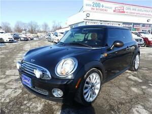 2010 MINI Cooper Hardtop Classic, LEATHER, PANORAMIC ROOF, AUTO