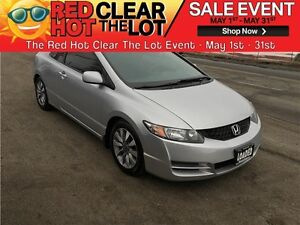 2010 Honda Civic Cpe EX-L REDUCED! CERTIFIED! LEATHER! SUNROOF!