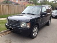 Range Rover HSE Black only 156kms!!! New Grills + Winter tires!
