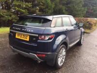 2012 12 LAND ROVER RANGE ROVER EVOQUE 2.2 SD4 PRESTIGE 5D AUTO 4WD 190 BHP DIESE