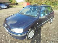 Peugeot 106 1.5D ZEST 2, SMALL DIESEL (blue) 2001