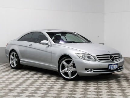2008 Mercedes-Benz CL500 C216 07 Upgrade Silver 7 Speed Automatic G-Tronic Coupe