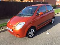 2007 Chevrolet Matiz 1.0 se low mileage 59,000 Full service history cheap to run