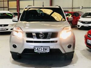 2010 Nissan X-Trail T31 MY10 ST Silver Constant Variable Wagon Green Fields Salisbury Area Preview