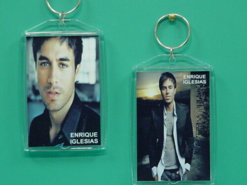 ENRIQUE IGLESIAS - with 2 Photos - Designer Collectible GIFT Keychain