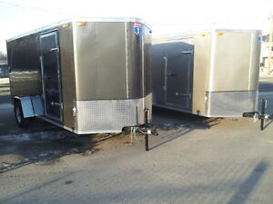 New Interstate 6x12 Enclosed Trailer w/Wedge