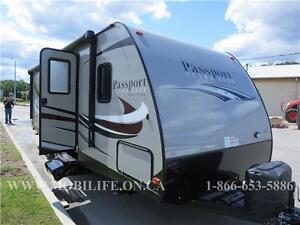 PASSPORT 2510 ** SUV TOW-ABLE COUPLES UNIT FOR SALE
