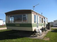 Caravan to let, for hire, rent East coast Withernsea 2 Bedroom 7 Berth Large Comfortable