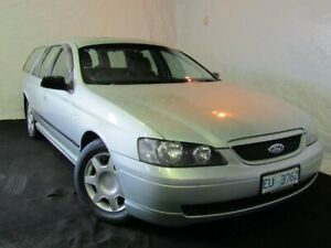 2003 Ford Falcon BA XT Gold 4 Speed Sports Automatic Wagon Derwent Park Glenorchy Area Preview