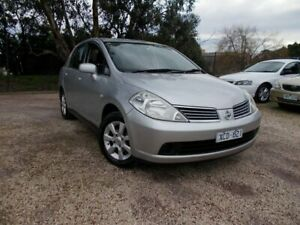 2008 Nissan Tiida C11 MY07 ST-L Silver 4 Speed Automatic Sedan Bayswater North Maroondah Area Preview