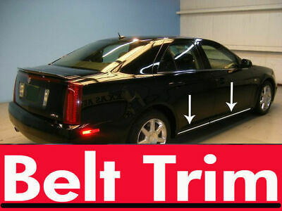 For Cadillac STS Chrome Body Side Molding Trim Kit 2005-2008 2009 2010 2011