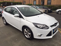 Ford Focus 1.6 Zetec Powershift 5dr LOW MILEAGE AUTO 2014 (63 reg), Hatchback