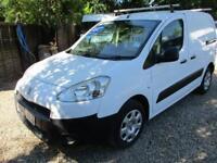2013 Peugeot Partner 1.6HDi ( 92 ) 850 S L1 NO VAT GENUINE MILES 120K