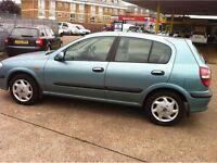 2001 Nissan Almera 1.5 petrol bargain