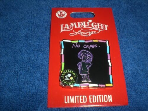 Disney 2020 Lamplight Lounge Series  INCREDIBLES EDNA MODE NO CAPES LE Pin