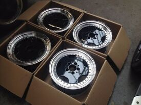 "GENUINE original OZ AMG 16"" 5x112 8j deep dish, split rims, MINT !!! mega rare, MERC"
