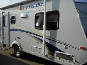 2012 JAY FEATHER X17Z - LITE TRAVEL TRAILER